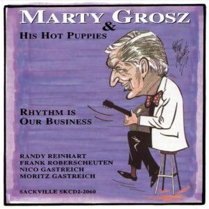 Marty Grosz SAC 2060 cover art