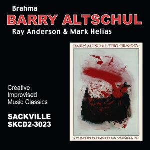 Barry Altschul - SAC 3023 album art