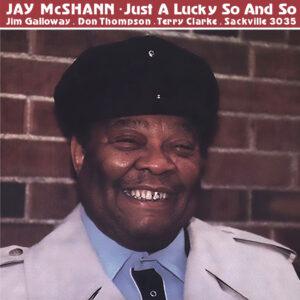 Jay McShann - SAC 3035 album art