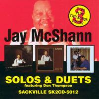 Jay McShann SAC 5012 album cover